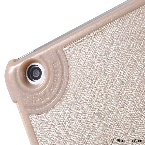 BASEUS Folio Case for Apple iPad Air [LTAPIPAD5-SL0V] - Champagne Gold Edition - Casing Tablet / Case